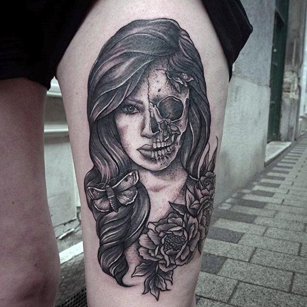 100 Tatuagens Femininas Na Coxa