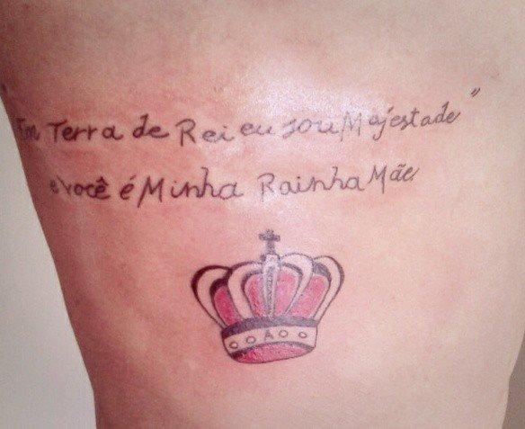 40 Tatuagens Masculinas De Frases