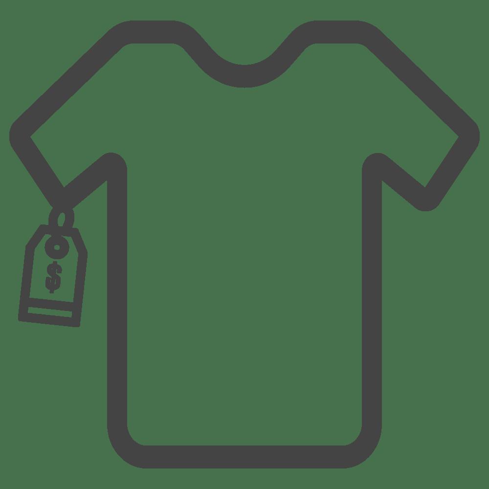 Retail Clothing Icon