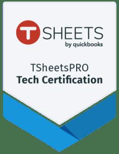 T Sheets Pro Tech Certification