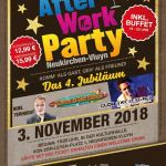 4 Jahre After Work Party mit Noel Terhorst, Danny and the Chicks, Clou Experience