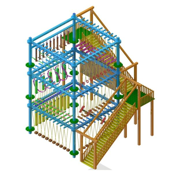 Best Rope Course Stracture in India
