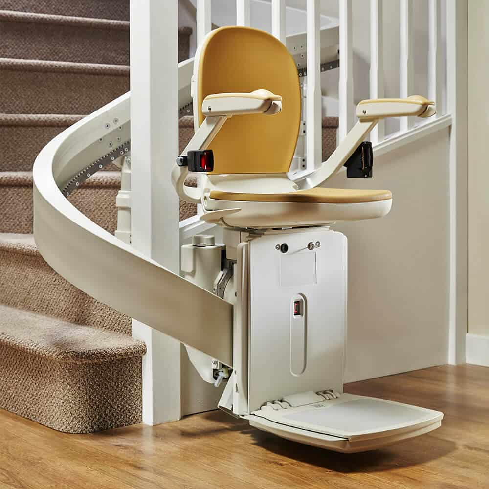 New Acorn Brooks 180 Curved Stairlift  Multicare