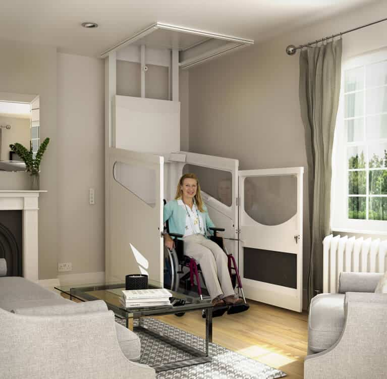 Terry Harmony Through Floor Lift  Multicare Stairlifts UK