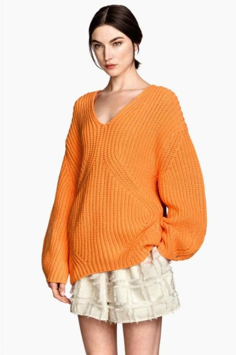 orang pullover large
