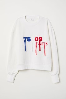1. Embroided sweatshirt - 39.99€