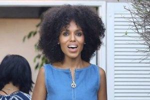 Kerry Washington's Natural Hair