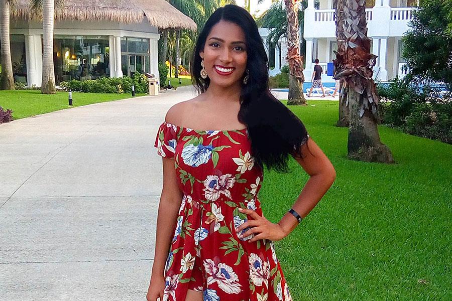 Nathalie Sarju Spring Dress