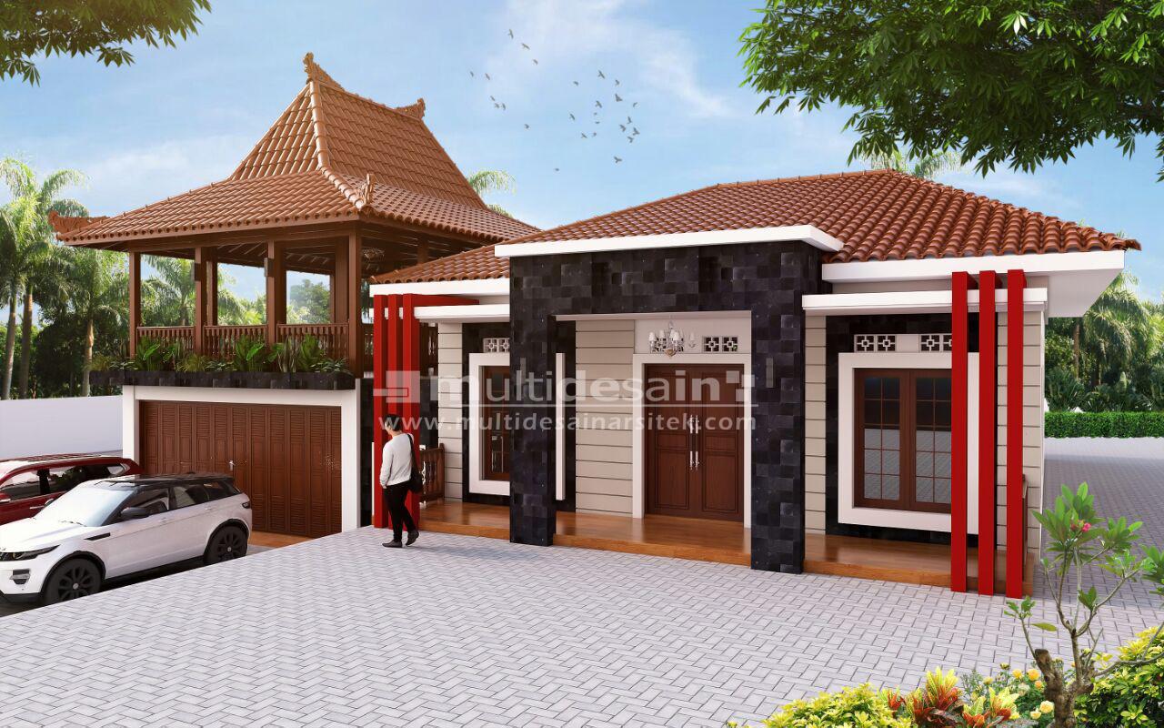 Desain Rumah Joglo Modern  Rumah Desain Minimalis