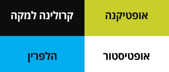 משקפי מולטיפוקל. סקר שוק ברשתות האופטיקה בישראל. מי מוכר מה ובאילו מחירים?