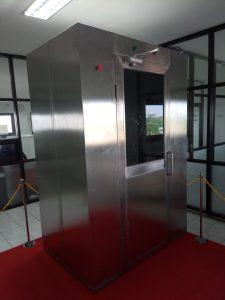 Air Shower Room 2 Module 1 Corridor