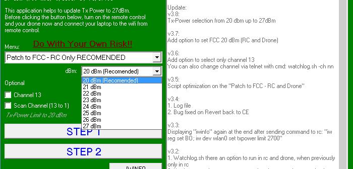 Phantom 3 Standard ve 4K yazılım ile menzil artırma