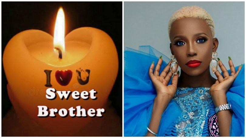 Actress, Ada Karl Cries Out After the Death of Her Elder Brother