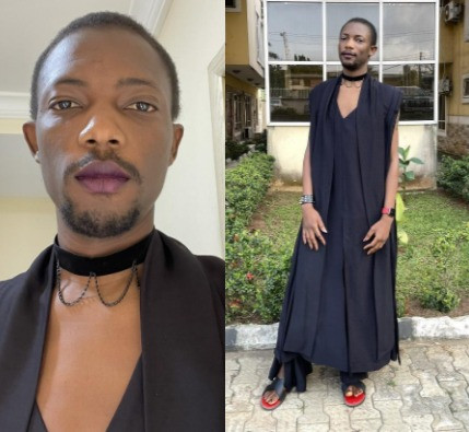 Tech entrepreneur, Ezra Olubi causes a stir with his outfit to a friend's wedding