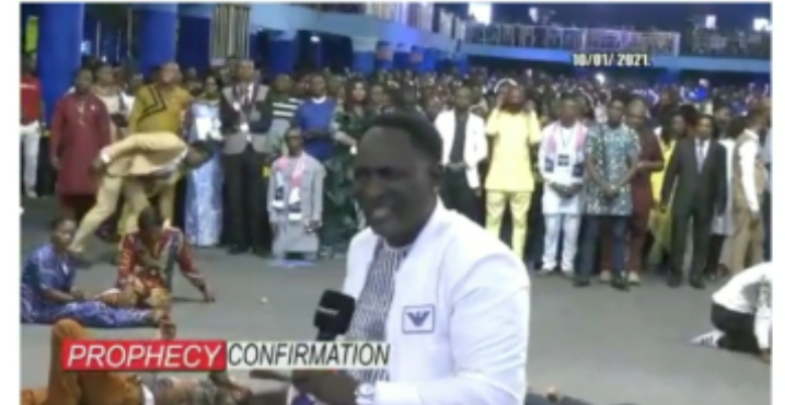 (Video): Prophet Jeremiah's prophecy about Aso Rock finally comes to pass
