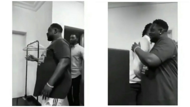 """(Video) Na you eat our national budget – Nigerians react to """"Wande Coal's big belly"""""""