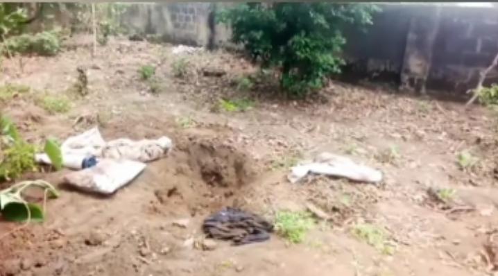 Shallow grave Uduak Frank Akpan buried Iniobong Umoren Revealed (Video)