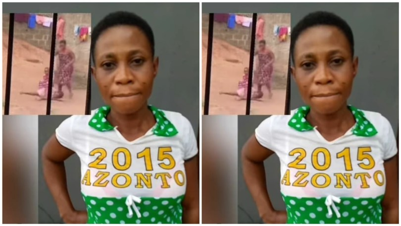 Daughter of a Nigerian Woman being Assaulted – Reasons
