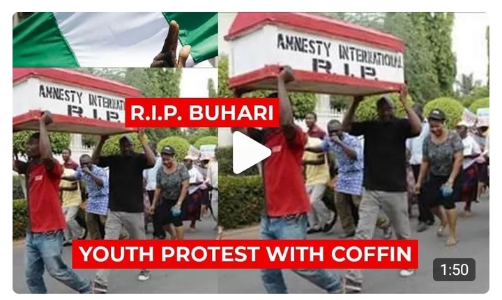 Imagine What Protesters Did to President Buhari
