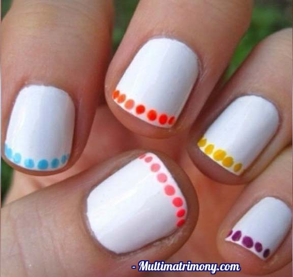 Add A Touch Of Fun To Your Nails With An Upgraded Polka Dot Tip All You Need Create The Perfect Is Head Pin Or Bobby