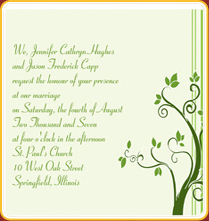 Enement Invitation Wording 01