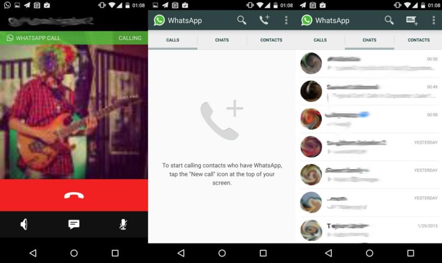 Whats-App Telefonieren