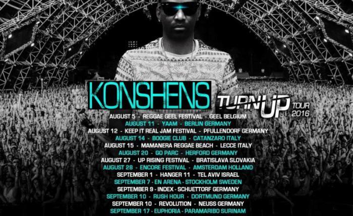 Dancehall SuperStar Konshens In Demand