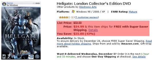hellgate london price drop