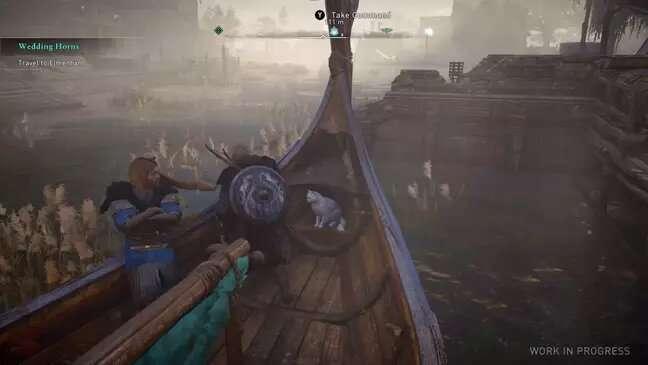 Assassin's Creed Valhalla kedi