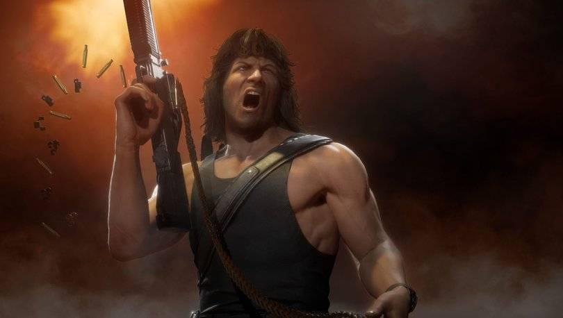 Mortal Kombat 11 Oyununa Rambo