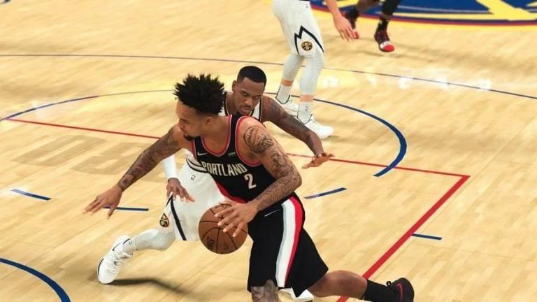 NBA 2K21'de DualSense