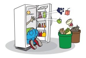 clean fridge clip art