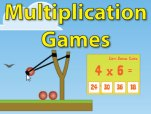 Free Multiplication, Addition, Subtraction, Division Games