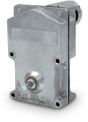 Picture of a model 1600 DC gear motor