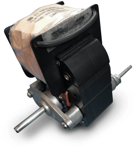 Picture of a shaded pole motor