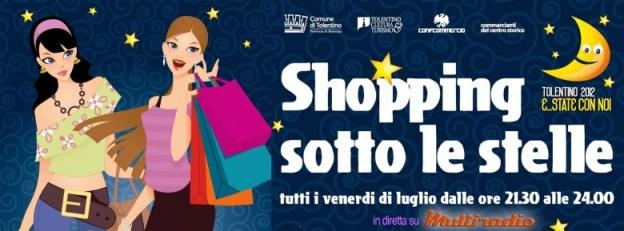 Shopping Sotto le Stelle a Tolentino venerdi 4 luglio 2014