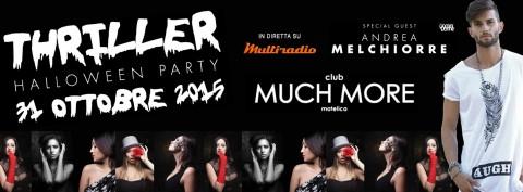 Much More Matelica - Halloween party 31 ottobre - live su Multiradio