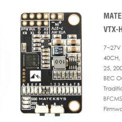 Fpv Transmitter Wiring Diagram Fender Strat Seymour Duncan Matek Vtx Hv Stackable Video Some Tips Connection Scheme