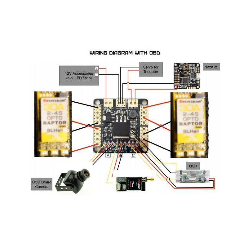 Antenna Rotor Wiring Diagram Power Distribution Board Pdb 4 Layers Pcb With Dual
