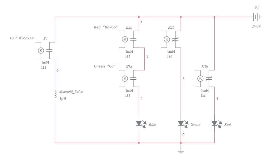 simple traffic light diagram zinc element lights multisim live