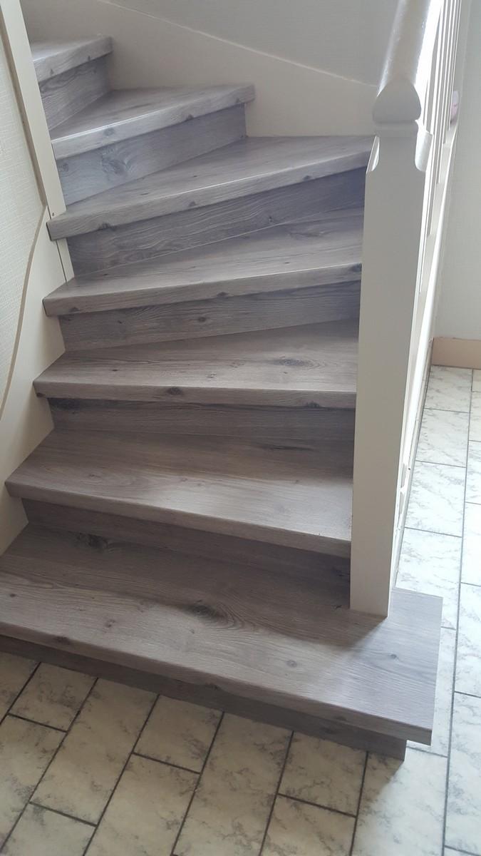 Escalier en parquet Nez de marche pour parquet et sol stratifi Un nouvel escalier ou rnover