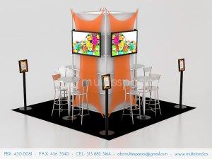 Alquiler y venta de stands en Bogotá