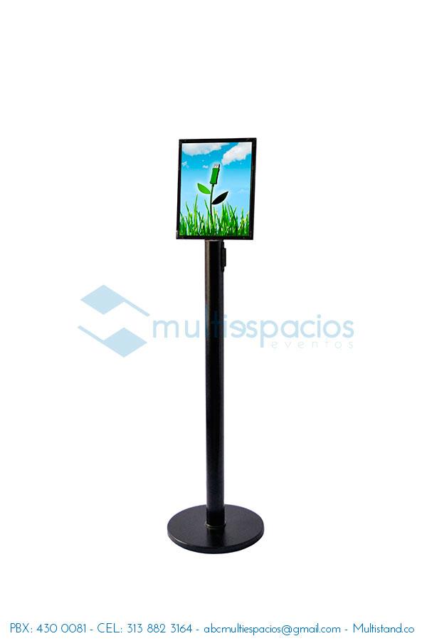 Hablador publicitario metálico alquiler en Bogotá