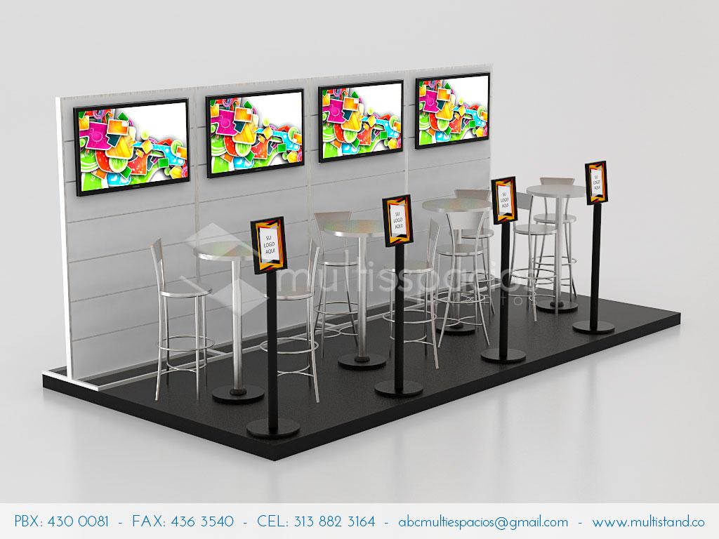 Stands en Bogotá, diseño, alquile y venta