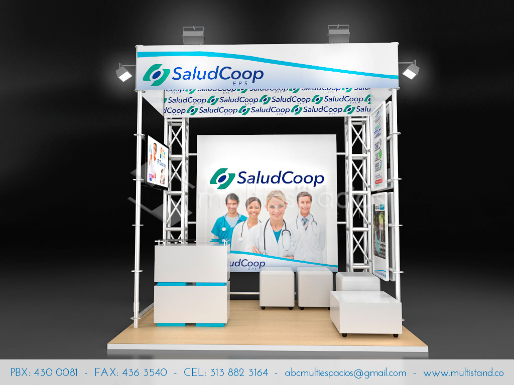 Stand 3m x 2m  Stands Bogot