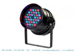 Alquiler de iluminacion para eventos: par Led, luces alógenas, lamparas decorativas