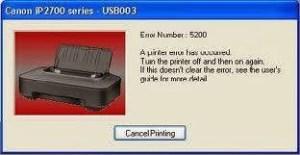 Cara Memperbaiki Printer Canon Pixma IP2770 Mudah
