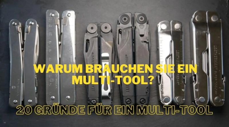 Warum brauchen Sie ein Multi-Tool