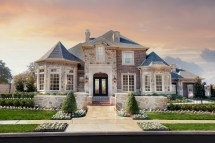 French Tuscan Style Home Exterior Images
