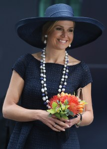 Majesty Queen Maxima Of Netherlands Named Holland